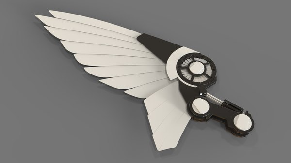 robot wing 3D model