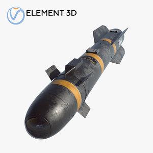 3D missile agm-114 hellfire