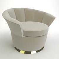 besame chair 3D