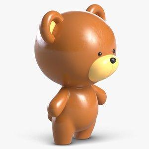 toy bear 2 3D