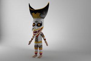 character phitakhon thailand model