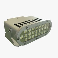 3D model helipad light