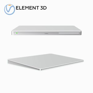 magic trackpad 2 3D model