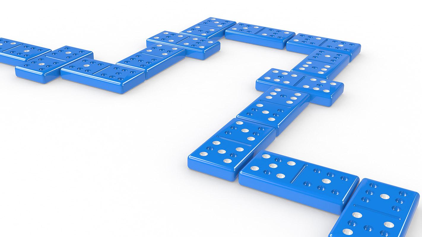 3D model dominos