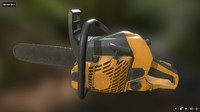 chainsaw chain saw 3D
