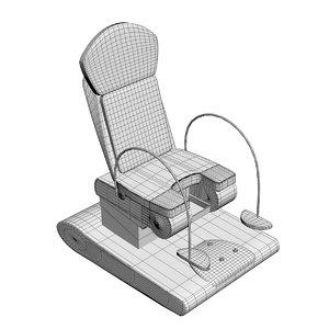 gynecological chair 3D model