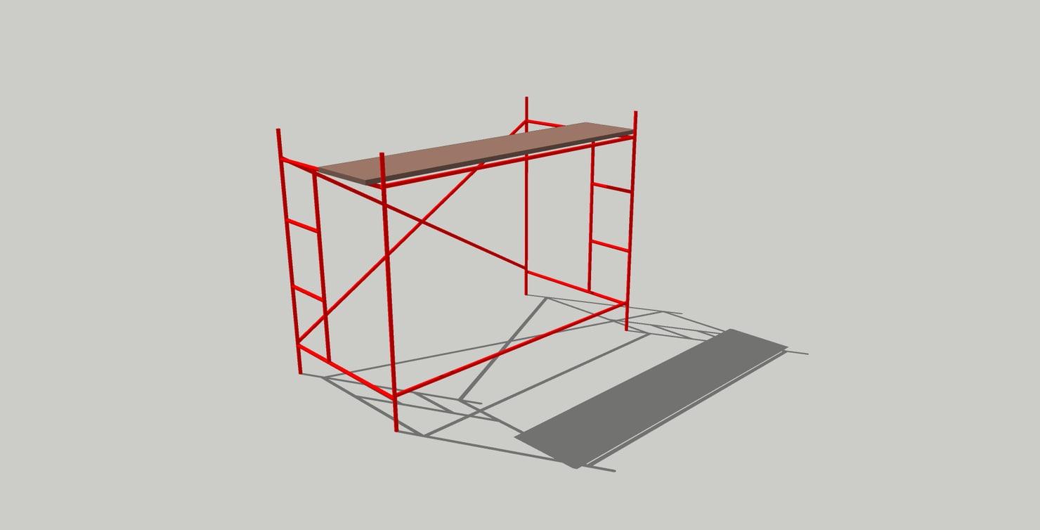 3D andamio