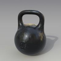 kettlebell black