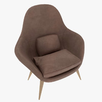 fredericia swoon chair model