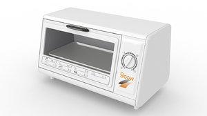3D model toaster ovens