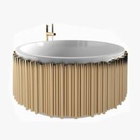 symphony bathtub 3D model