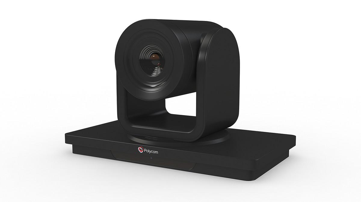 3D polycom video camera conference