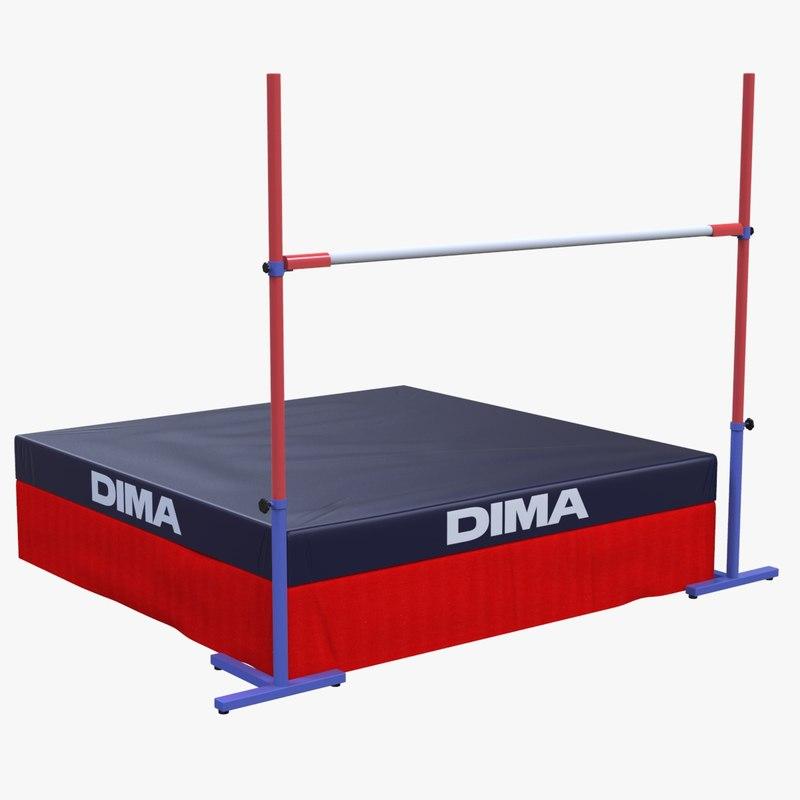 jumping jumper equipment model