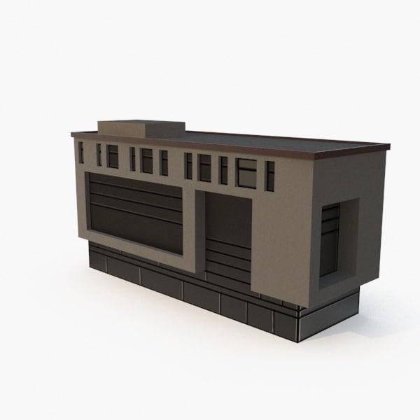 science building 3D model
