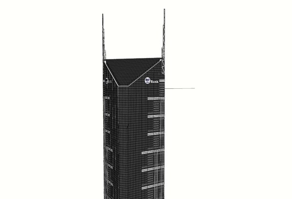 3D melbourne central tower