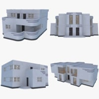Streamline Moderne Home Collection 2 ( Interior + Exterior )