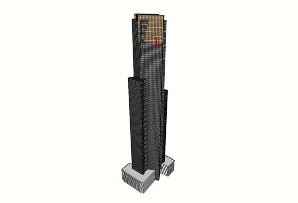 eureka tower model