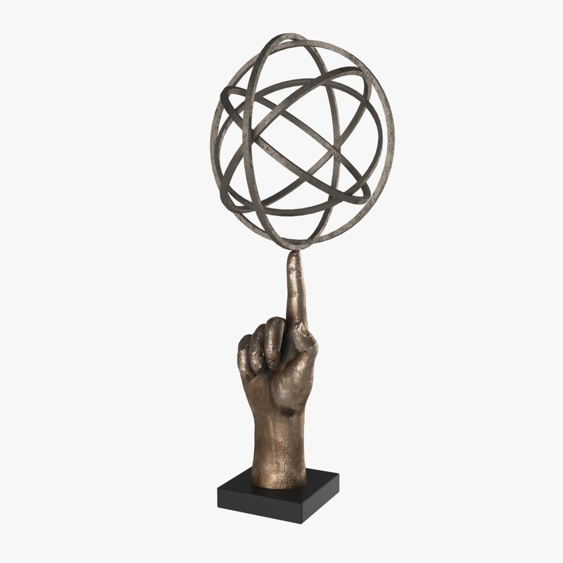 sculpture bronze 3D