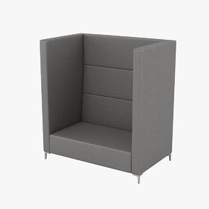 3D techo cara chair