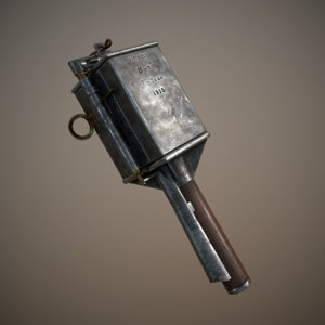 rdultovsky s hand grenade 3D