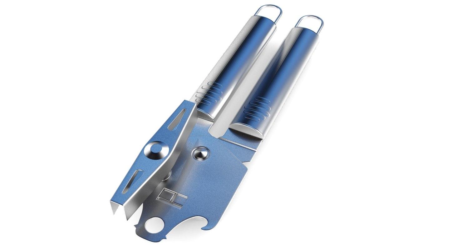 3D can-opener open