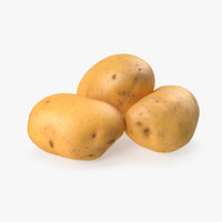 Raw Potatoes Set