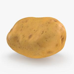 potato realistic 3D model