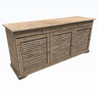 3D cabinet model