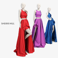 mannequin dress 3D model