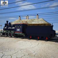 3D wild west model