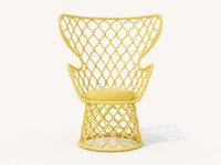 3D tidelli painho lounge chair