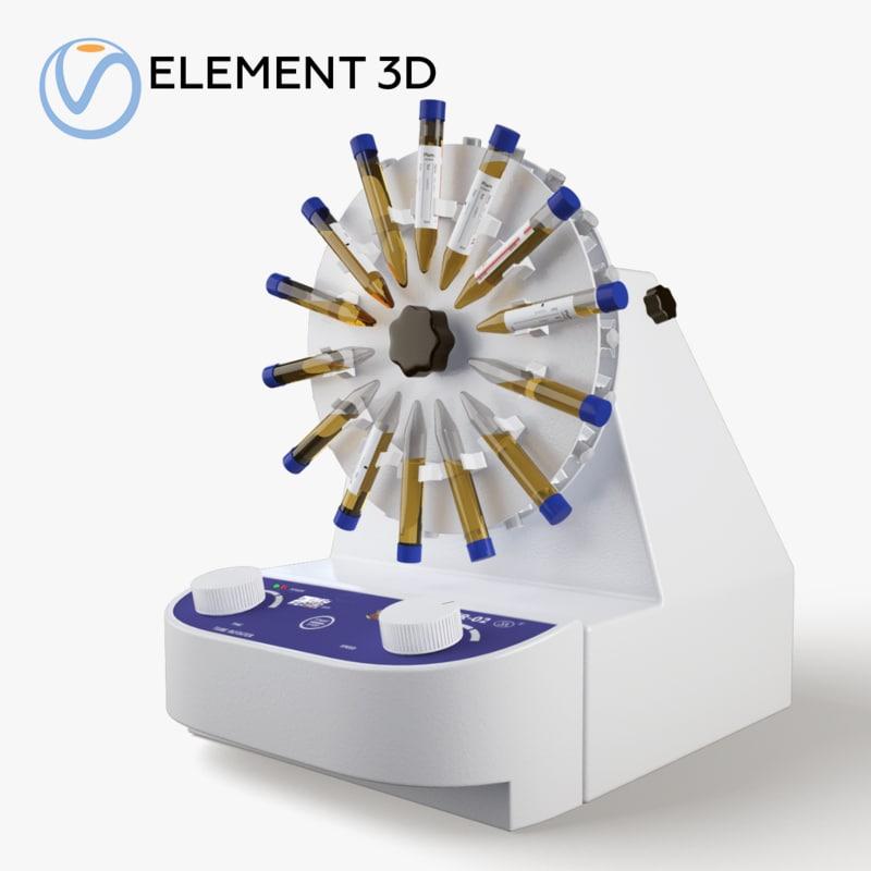 laboratory rotator mixer htr 3D model