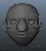 Funny Character Head