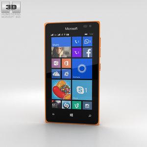 microsoft lumia 435 3D