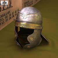 helmet legionnaire legion 3D model