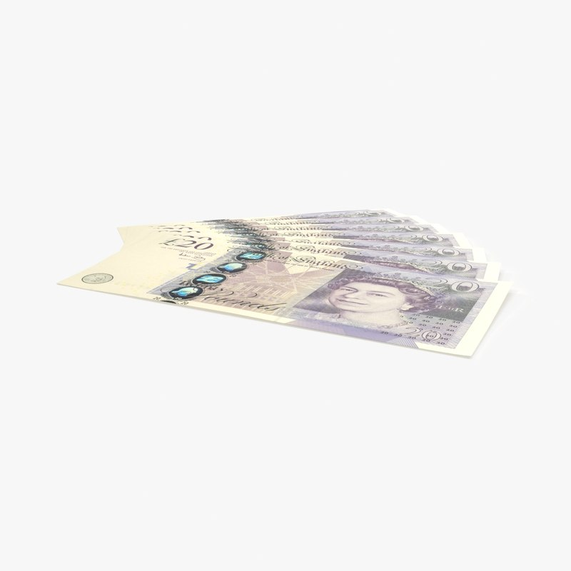 20-pound-note---fanned model