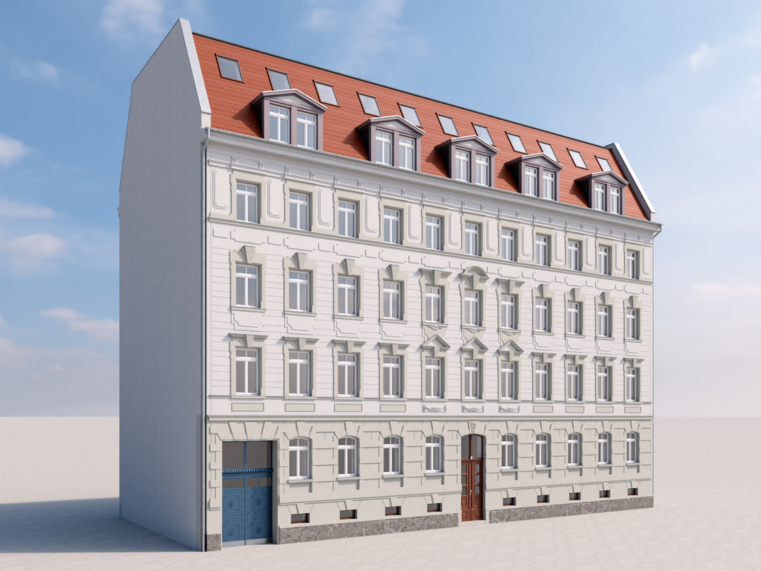 building leipzig 3D model
