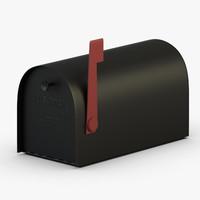 3D mail box model