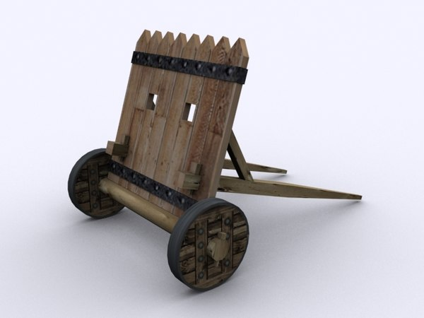 shield weapon siege 3D