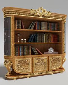 classic bookcase model