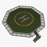 Helipad With Net