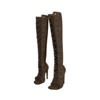 Knee High Boots 3D Model