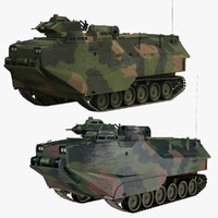 3D camo aav-7 model