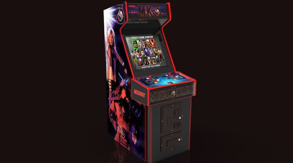 mortal kombat 3 arcade machine 3D model