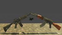 KIT 3 in 1 M4A1 AK 47 ACGO