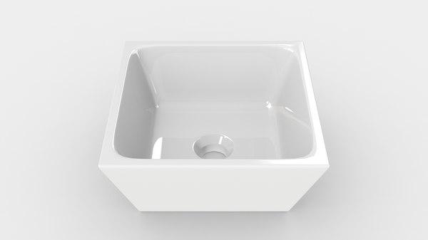3D bathroom sinks -