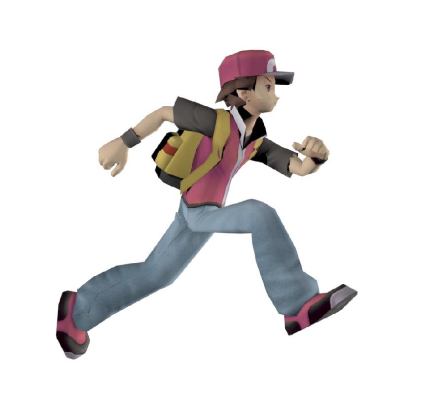 3D pokemon ash ketchum