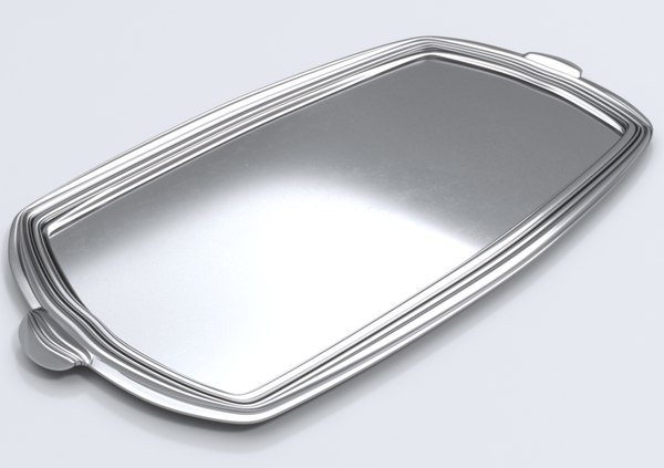elegant tray 3D model