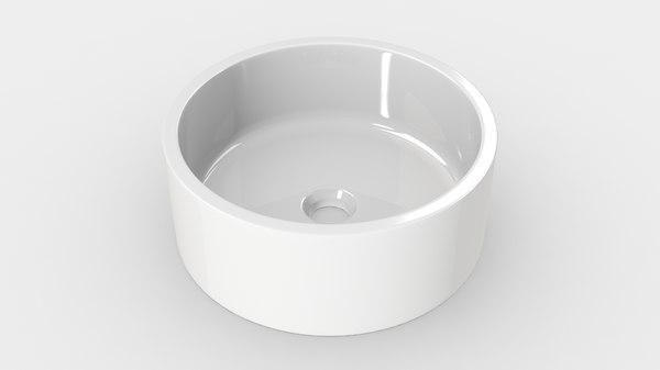 bathroom sink - 3D model