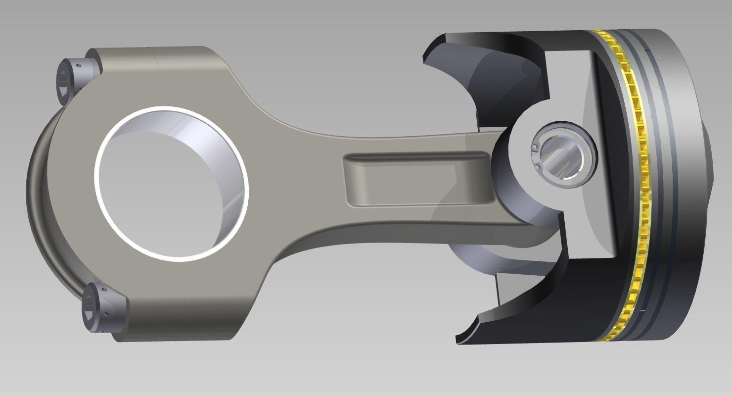 piston engine model